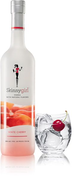 Want to add a smooth and sassy splash to your cocktail? Then Skinnygirl™ White Cherry Vodka is your go-to gal for cherry-flavored vodka drinks. Kissed with vanilla, she's subtly sweet and so good, you can simply serve as-is over ice. Or if you're feeling formal, garnish with cherries and add a splash of soda water for an easy yet elegant sip. However you serve, our white cherry vodka is the perfect complement to any occasion. So invite your ladies over to mix and mingle with our new girl!