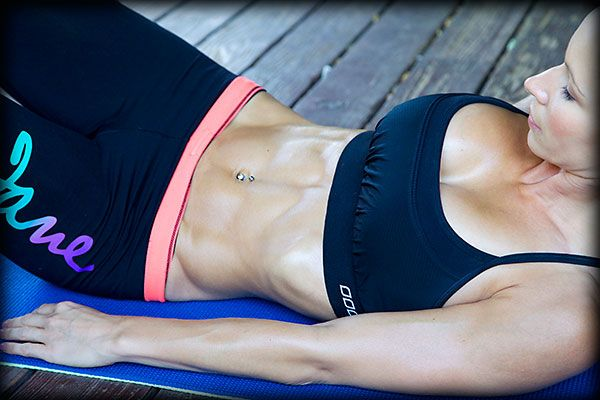 Six Pack Abs workout video | Zuzka Light. Good morning routine to kick the day off right!