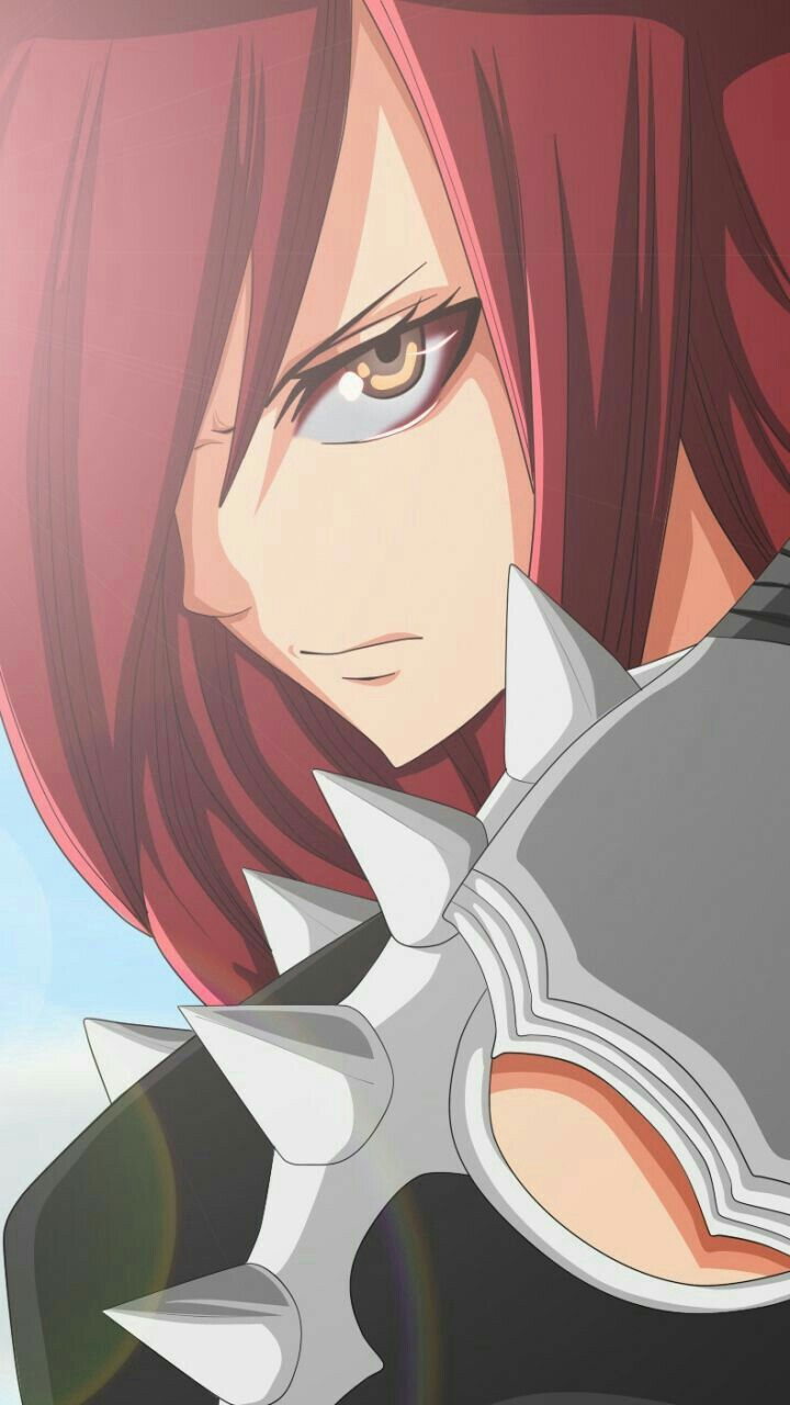 Erza with purgatory armor - Fairy tail