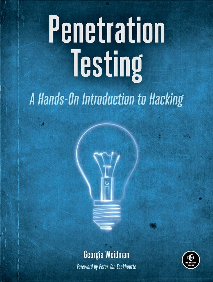 Penetration testing: a hands-on introduction to hacking / Georgia Weidman. 2014.