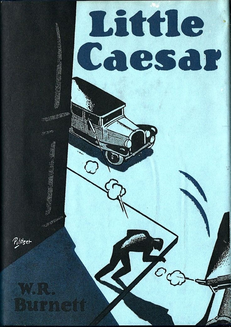 Little Caesar. W R Burnett. New York: Lincoln Mac Veagh, The Dial Press, 1929. First edition. Politzer original dust jacket. Author's first novel and one of the first crime noir titles. Classic gangster novel and basis for the 1931 film starring Edward G. Robinson, Douglas Fairbanks, Jr., and Glenda Farrell.