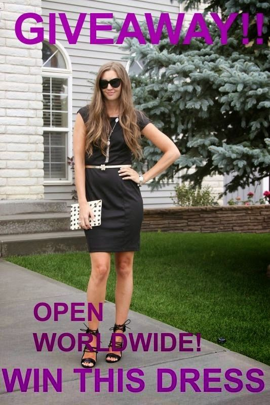 MyStyleSpot: GIVEAWAY: Win a Little Black Dress #WIN this #little #black #dress! OPEN WORLDWIDE! click to enter! Ends Nov 11. #contest #sweepstakes #giveaway #lbd #fashion #blog #blogger #mystylespot #style #shopping #clothes #clothing