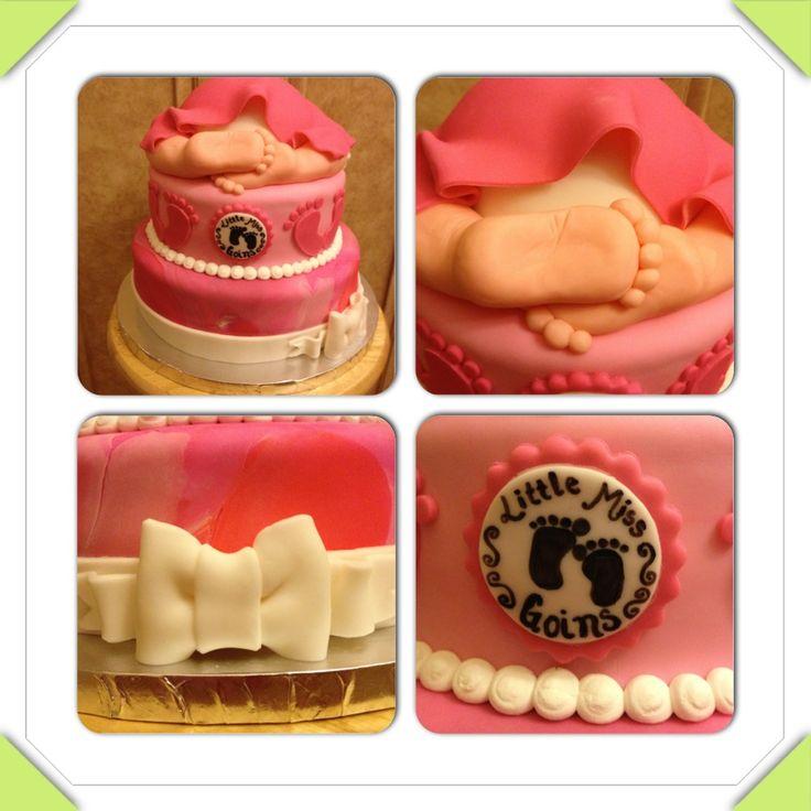 Baby Shower Cake Baby Feet