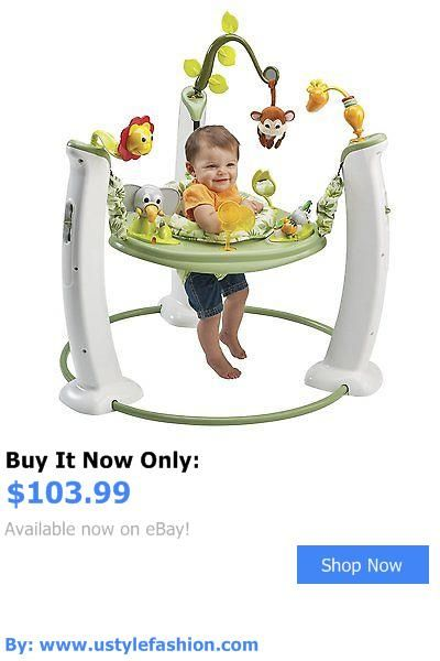 Baby activity centers: Evenflo Exersaucer Jump And Learn Jumper Safari Friends Baby Jumperoo Bouncer BUY IT NOW ONLY: $103.99 #ustylefashionBabyactivitycenters OR #ustylefashion