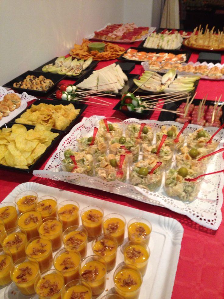 1000 images about comida para fiestas on pinterest for Comida oficina
