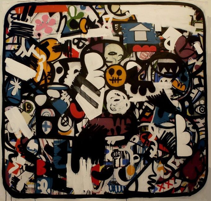 Magnifique oeuvre au format impressionnant ! Donnez de la personnalité à votre pièce…grâce à cette toile unique et majestueuse by Leyto Mahé. Techniques mixtes sur toile. Dimensions : 200 x 206 cm