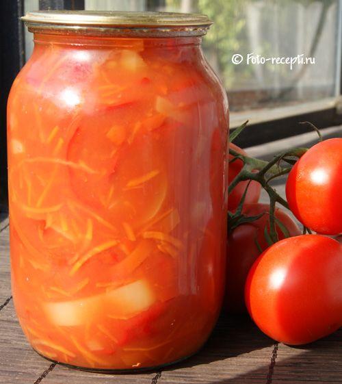Лечо из болгарского перца и помидоров, много рецептов на любой вкус!