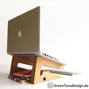 SOPORTE del ordenador portátil: este por greentunadesign en Etsy