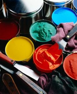 Different types - offset printing inks