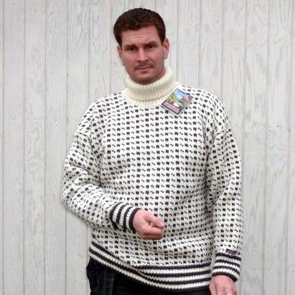 Norwool rullekrave sweater wool