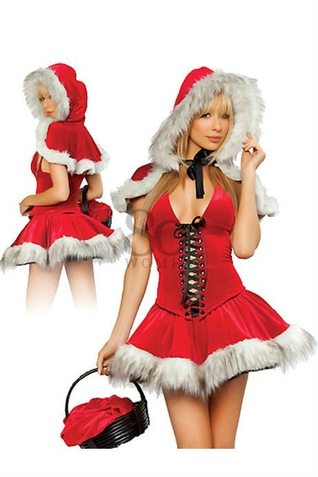 Passion Festival Wraps Red Sexy women christmas costumes ladies santa strap corset outfit party lingerie dress + Hat + UNDERWEAR on AliExpress.com. 5% off $23.64