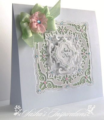 Spellbinders 'Adorning Squares' and 'Marvelous Squares'