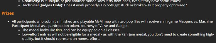 So this MvM contest we make new maps win money and medals and never get to play these maps in the game ever again cause we can't have new shit like a mvm update great #games #teamfortress2 #steam #tf2 #SteamNewRelease #gaming #Valve