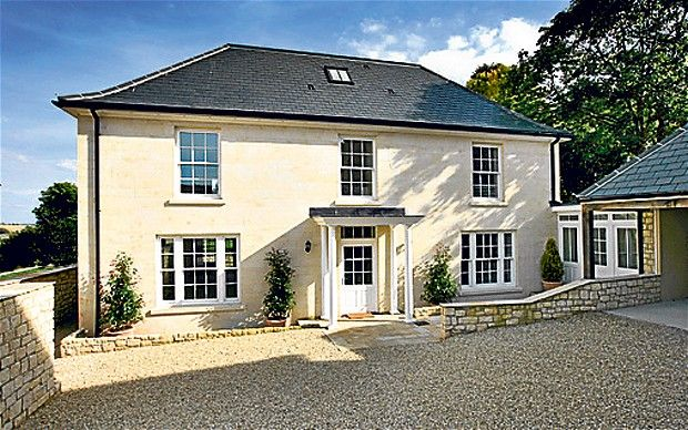 GEORGIAN STYLE, £895,000 Five-bedroom/five-bathroom Burgh House in Tisbury, Wiltshire, was completed just three weeks ago (Strutt & Parker, ...