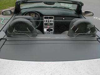 Mercedes SLK 320 Windscreen, Windblocker, Wind Deflector by Windblox. http://www.windblox.com