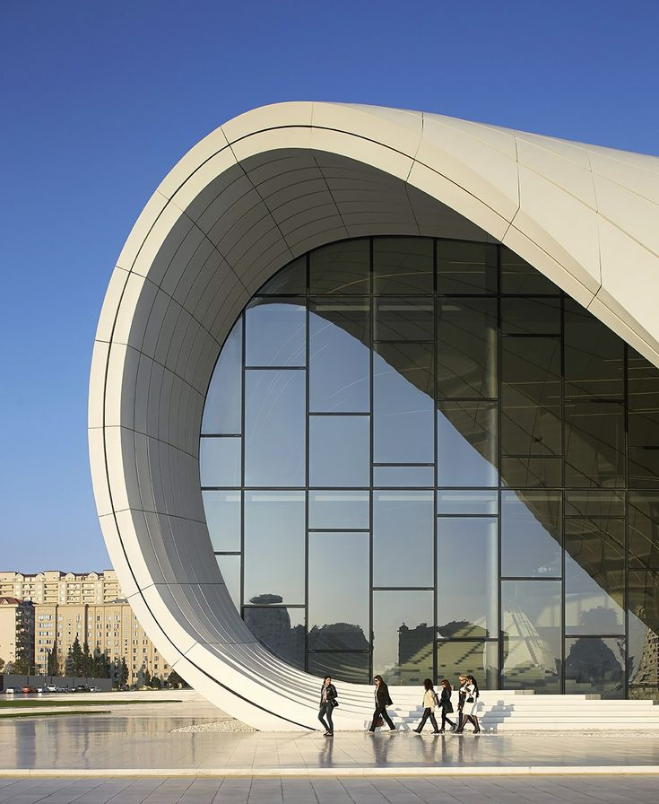 Zaha Hadid Architects Have Designed The Heydar Aliyev Center In Baku Azerbaijan Hosts A Variety Of Cultural Programs