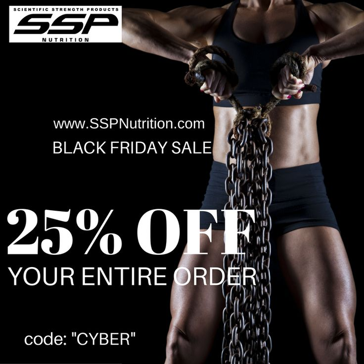 Save 25% on your entire SSP Nutrition order! visit www.SSPNutrition.com to learn more about our Banned Substance Free Female Supplements.