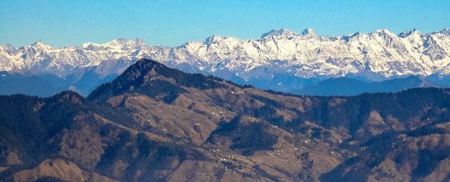 The lower Himalayas !