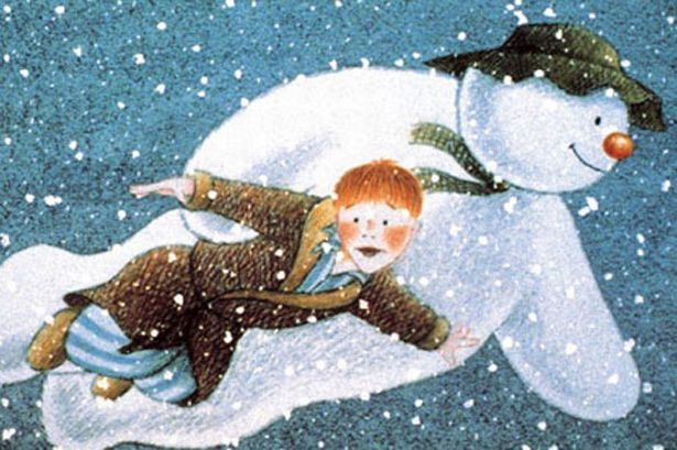 the snowman, one of my favorites when i was little