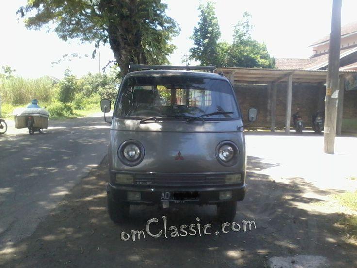 mitsubishi delica colt t 100  colt t bagong  from klaten central java  car classic indonesia
