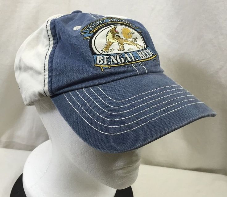 relax baseball cap hat adjustable blue white tropical tommy bahama