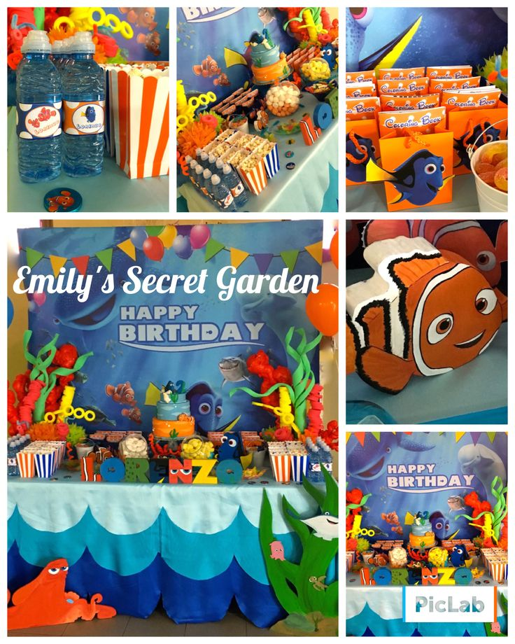 Finding Dory party!