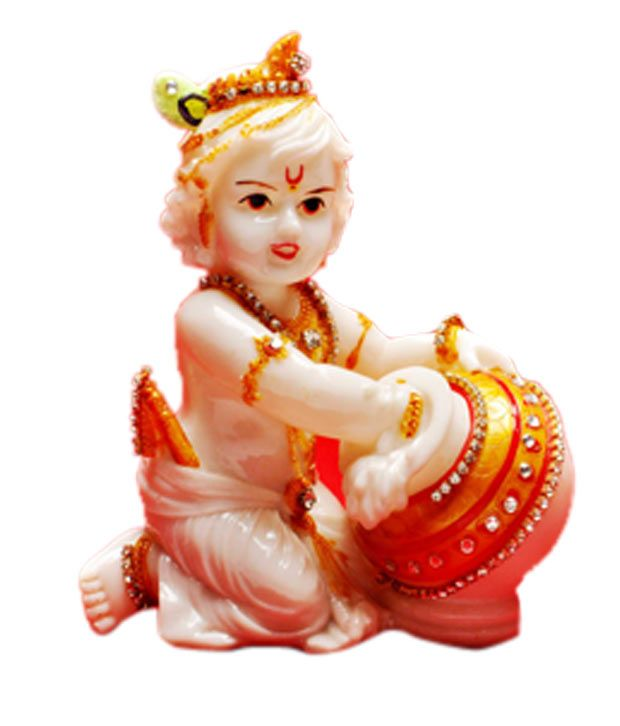 Cosmos Galaxy Divine Lord Krishna Idol