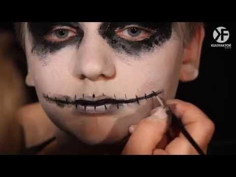 Hexe schminken - Hexengesicht Schminke für Halloween / Anleitung & Vorlage - YouTube