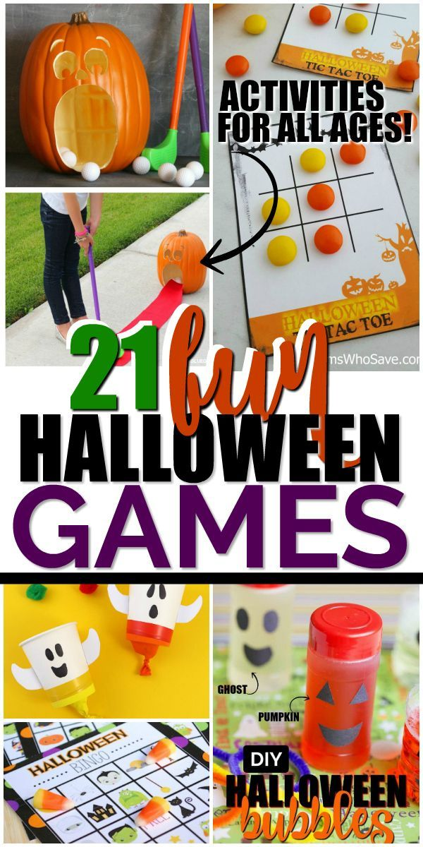 An Awesome List Of Fun Halloween Games Kids And Adults Can Play At Your Halloween Party We Ve Fun Halloween Games Easy Halloween Games Halloween Party Favors