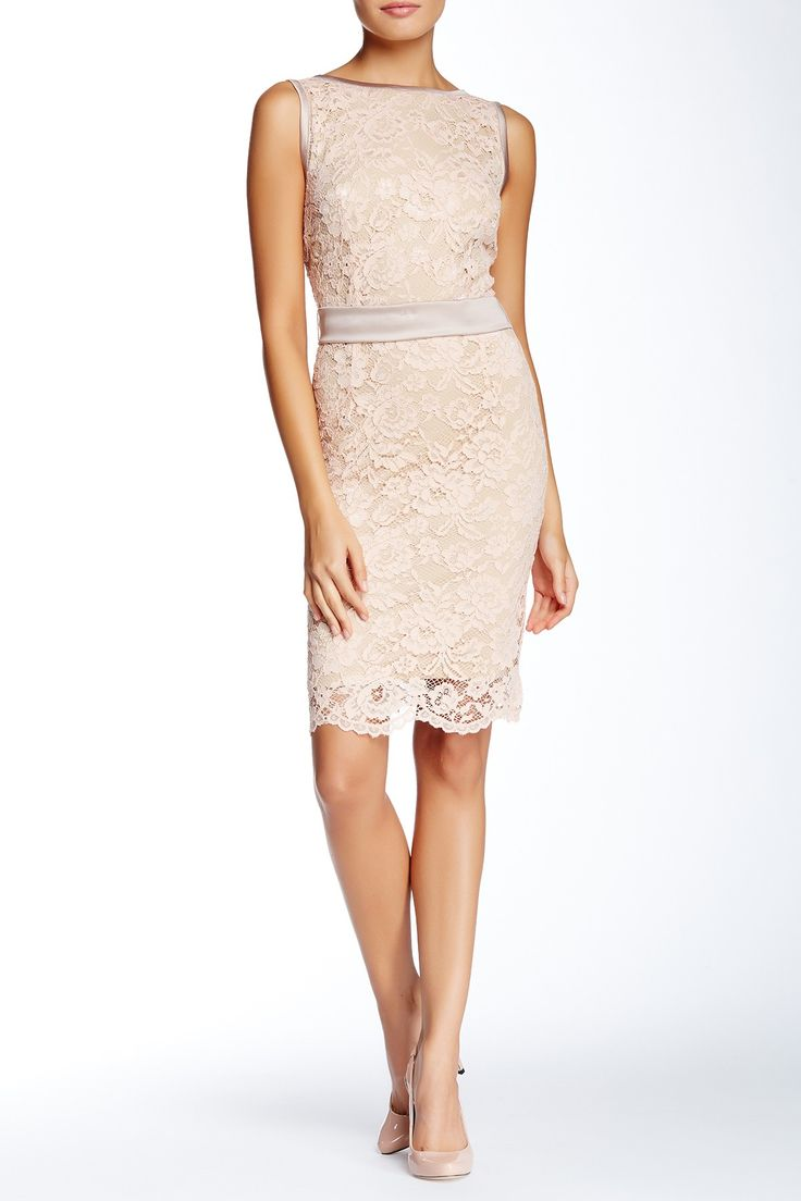 Allen B. by Allen Schwartz - Natalie Lace Sheath Dress at Nordstrom Rack. Free Shipping on orders over $100.