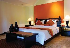 slaapkamer oranje paarse tint - Google zoeken