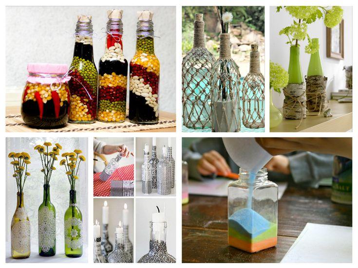 Diy διακόσμηση με μπουκάλια 85 ιδέες για να δημιουργήσετε μια μαγική εσωτερική διακόσμηση | Τεχνοτροπίες Και Διακόσμηση