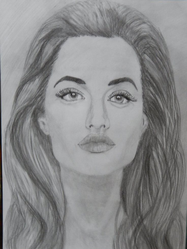 Angelina Jolie by 8manu on DeviantArt