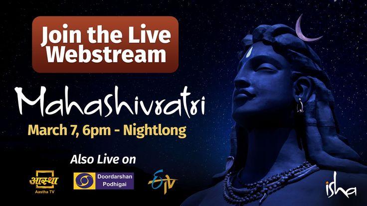 Mahashivratri 2016 LIVE from Isha Yoga Center