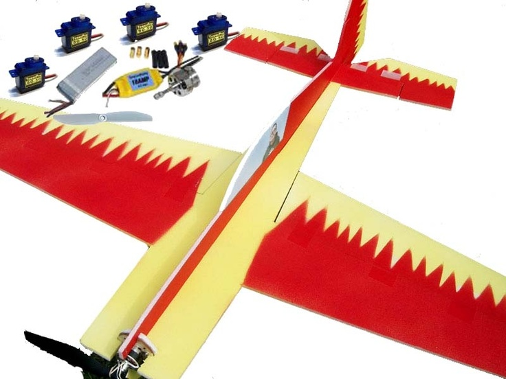 RC Powers Extra 300 Receiver Ready Kit - Everything you need to get your RCPowers Extra 300 into the air. Save several hours by having the kit already laser cut to perfection.  No more crooked mis cut foam!