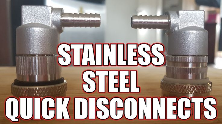 Stainless Steel Quick Disconnects