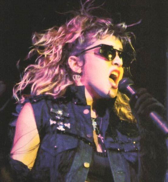 madonna virgin tour   Mad-Eyes - Madonna biography & career overview - 1985
