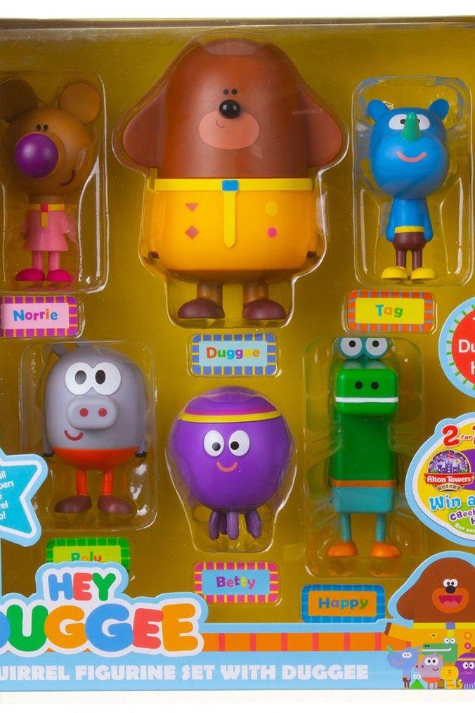 Kids Hey Duggee Dress-Up Figure Brown Toy