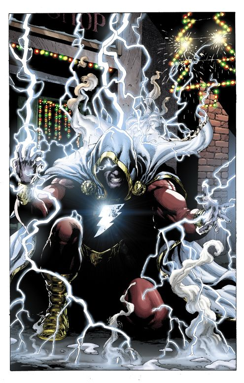 "Captain Marvel's new ""Shazam!"" interpretation by DC Comics. I might have to start collecting this one."