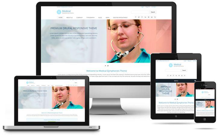 Medical Zymphonies Theme | Drupal Free Theme | Drupal Premium Theme | Drupal Bootstrap Theme | Drupal eCommerce Theme | Drupal Responsive Theme | Drupal 7 Responsive Theme | Zymphonies  http://www.zymphonies.com/medical-zymphonies-theme