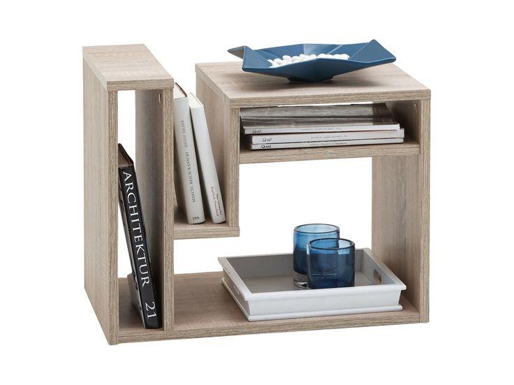 FRITZO Sidobord 60 Ek i gruppen Inomhus / Soffbord / Övriga soffbord hos Furniturebox (100-85-99030)