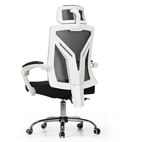 Hbada Ergonomic Office Chair Modern High Back Desk Chair Reclining Computer Chair With Lumbar Support Best Office Chair Ergonomic Office Chair Office Chair