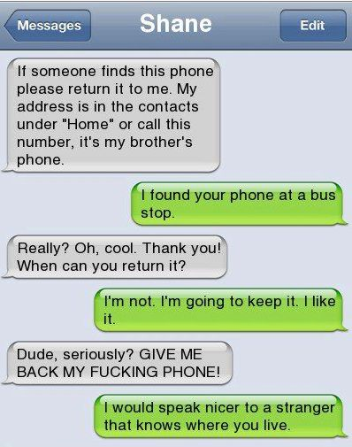 Epic text - Lost phone - http://jokideo.com/epic-text-lost-phone/