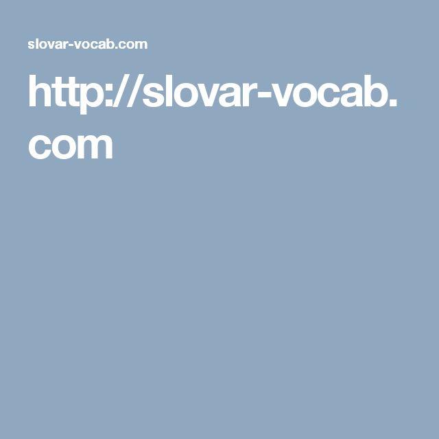 На сайте slovar-vocab.com Вашему вниманию представлены англо-русские, русско-английские, а также просто русские, английские и староанглийские словари самых разных тематик и направлений на любой вкус - от карманных до многотомников, переводы самых редких слов.  Более 9 миллионов энциклопедических и словарных статей в Вашем распоряжении!