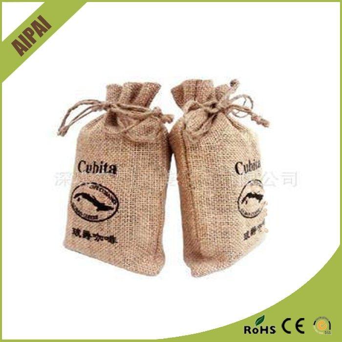 Barato pequeño importador de yute bolsa con cordón de compras/yute bolsa para el arroz fabricantes