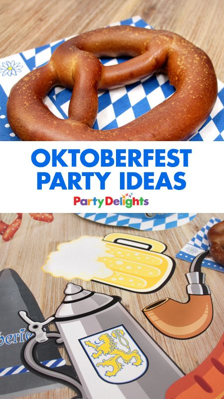 Oktoberfest is the perfect excuse for a German-themed party! Read our Oktoberfest party ideas for a party full of beer, pretzels and traditional German Oktoberfest decorations.
