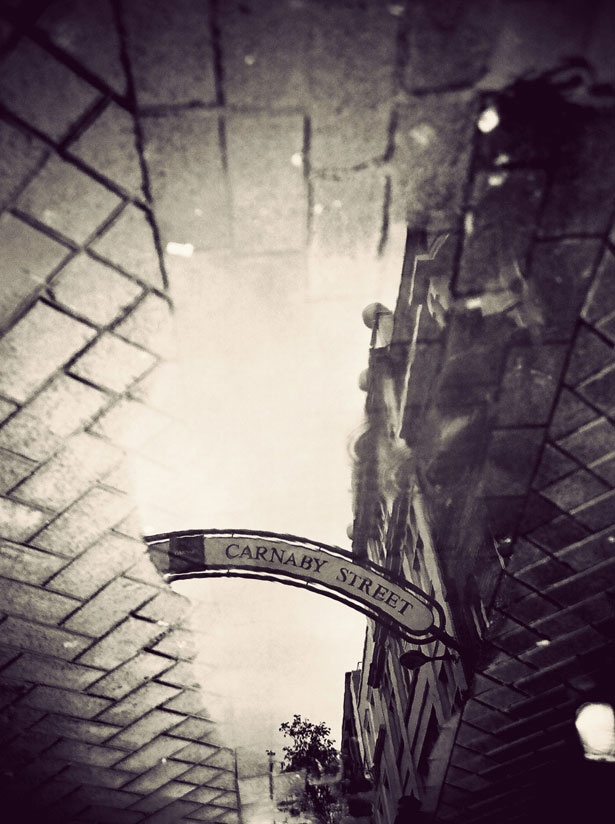 London In Puddles photography series by Gavin Hammond - Life - Stylist Magazine
