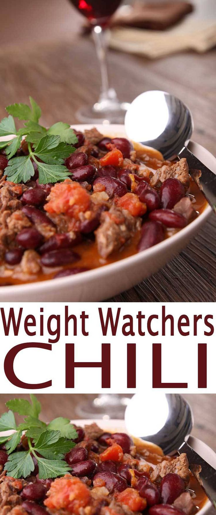 Weight Watchers Chili Recipe is a healthy chili recipe that is an easy dinner recipe and a nice slow cooker meal. Put this in the crock pot for an easy dinner solution. Best chili recipe.
