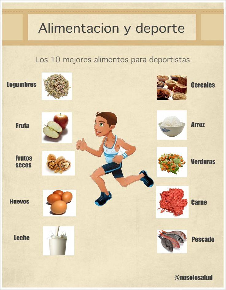 Los 10 mejores alimentos para el deportista