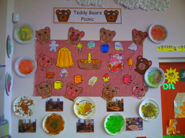 Teddy Bear's Picnic classroom display photo - Photo gallery - SparkleBox